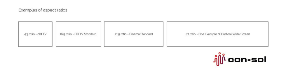 aspect ratios diagram